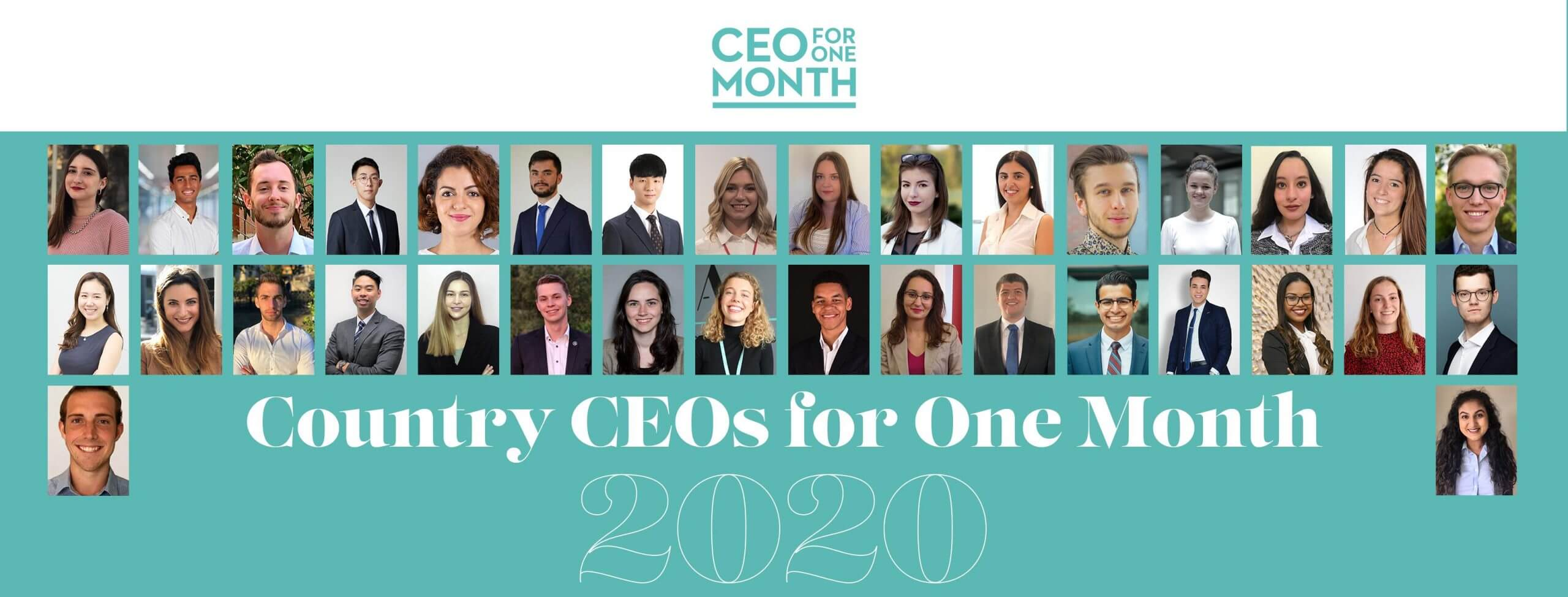 Global CEO for One Month 2020